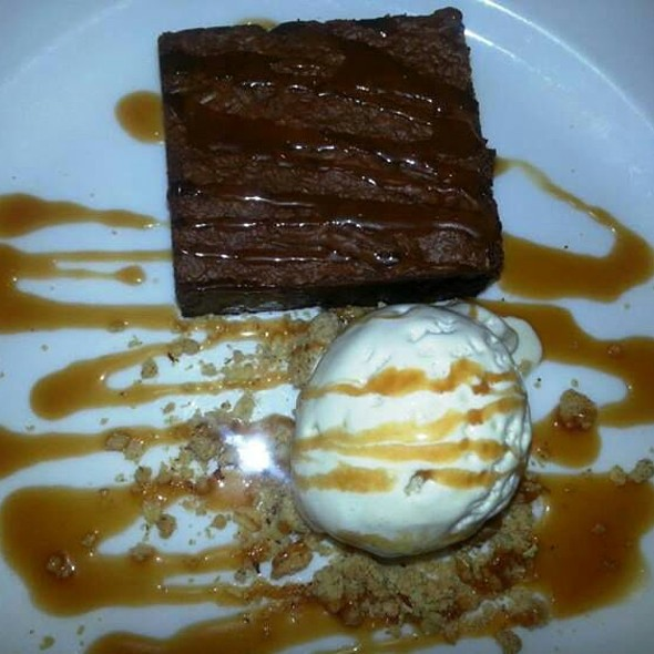 Chocolate Brownies - Catch at Hotel Casa del Mar, Santa Monica, CA