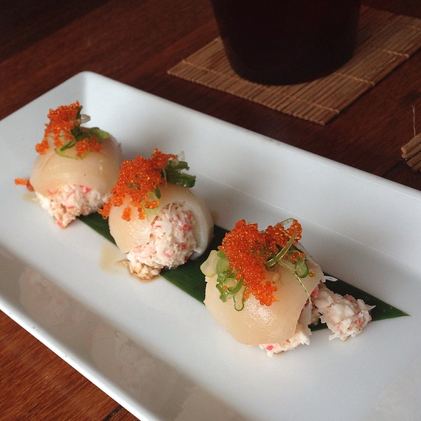 "Hamachi ""Bon-Bons"" - Eiko's, Napa, CA"