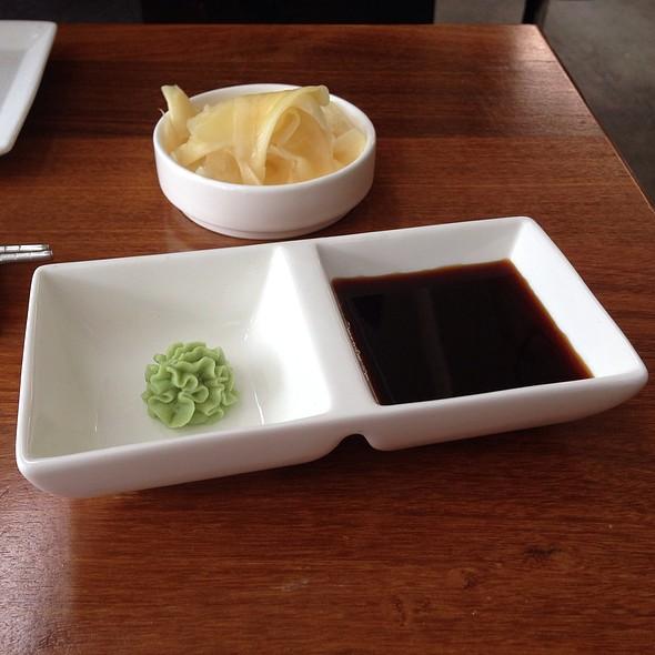 Wasabi, Gari And Shoyu - Eiko's, Napa, CA