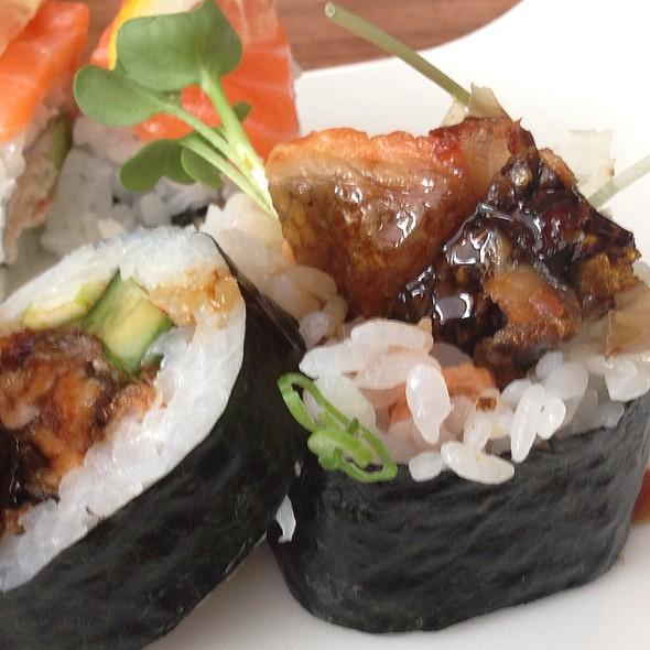 Salmon Skin Roll - Eiko's, Napa, CA