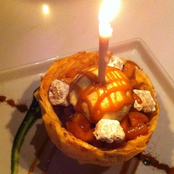 Apple In Puff Pastry Shell - Katsuya- Brentwood, Brentwood, CA