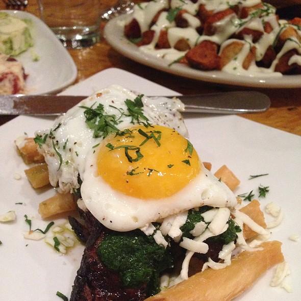 carne con yuca - Macondo East, New York, NY