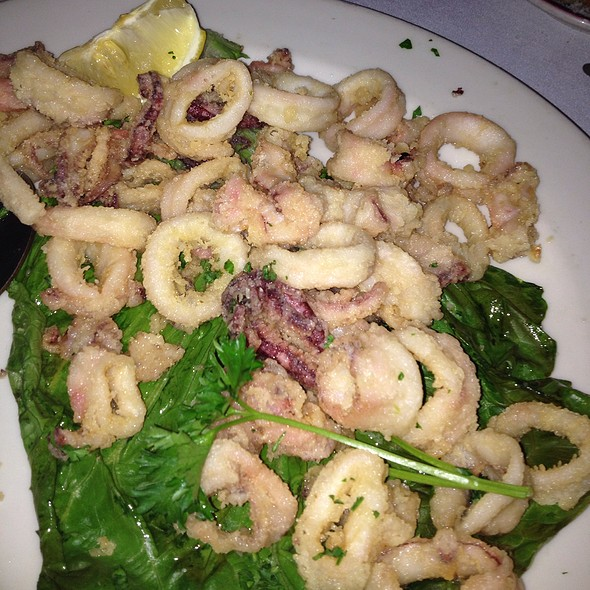 Fried Calamari - Sabatino's Restaurant, Chicago, IL
