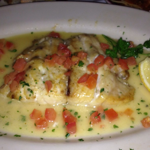 Corvina Fish - Sabatino's Restaurant, Chicago, IL