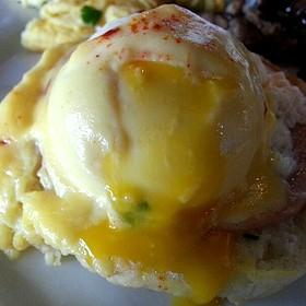 Eggs Benedict - Marisol at the Cliffs Resort, Pismo Beach, CA