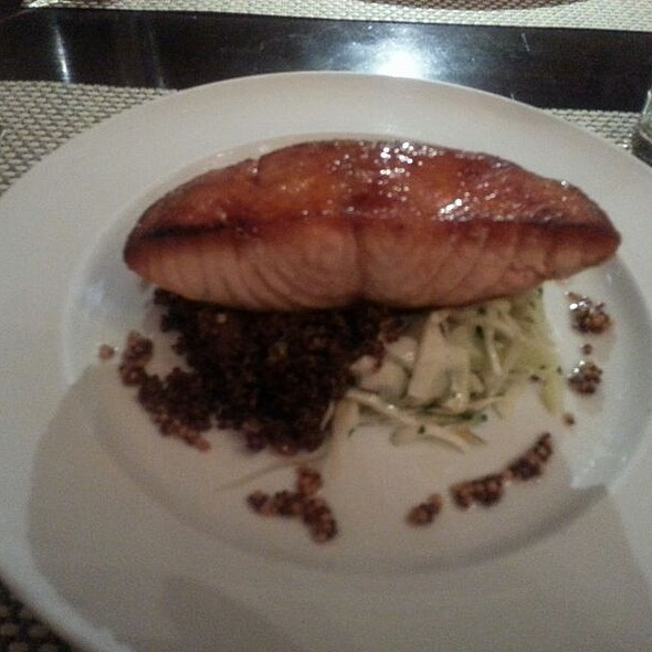 Salmon with Quinoa - Strand Bistro at Marriott Vacation Club Pulse, New York, NY