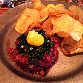 Beef Tartare - Drake One Fifty, Toronto, ON