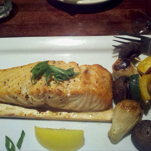 Honey Planked Seared Salmon - Weber Grill - Indianapolis, Indianapolis, IN