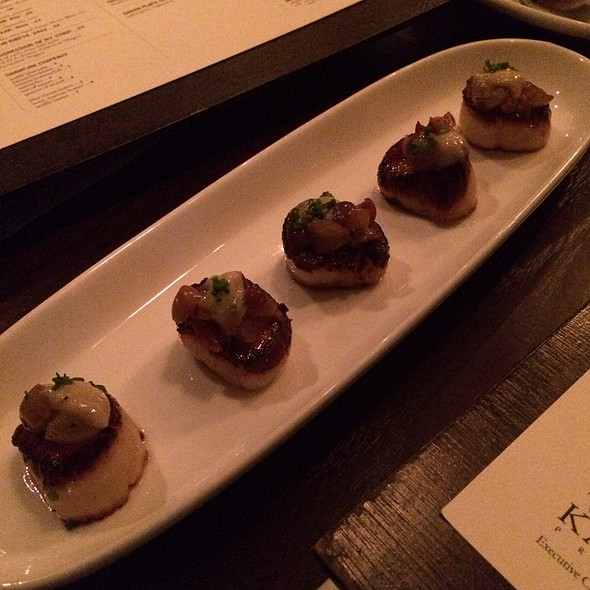 Seared Scallops - Kayne Prime, Nashville, TN