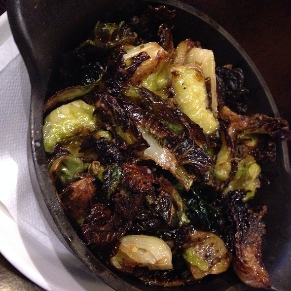 roasted brussel sprouts - Manning's Restaurant - Harrah's New Orleans, New Orleans, LA