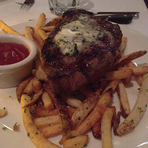 New York Strip - Dressler's Restaurant - Metropolitan (Midtown), Charlotte, NC