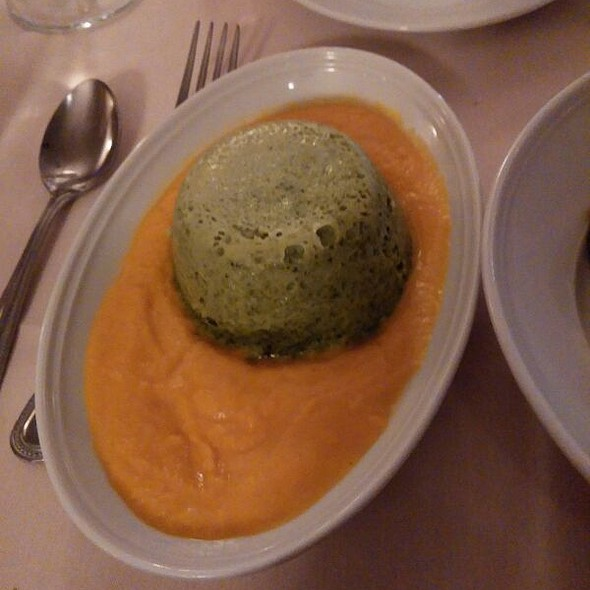 Broccoli Flan - El Meson, Houston, TX
