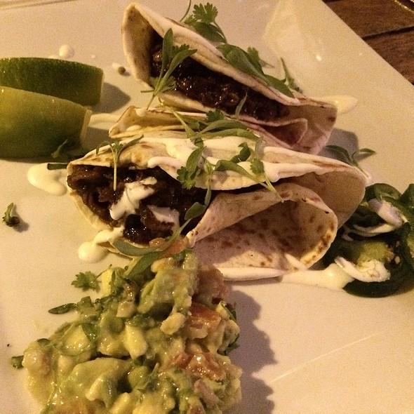 Braised Pork Tacos - Nine One Five, Key West, FL