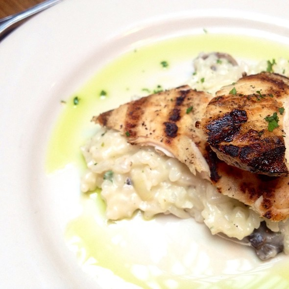 Garlic Chicken Mushroom Risotto  - Lagunitas Taproom & Beer Sanctuary, Charleston, SC