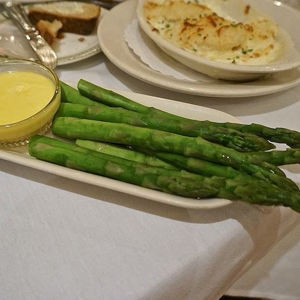 Steamed Asparagus With Hollandaise Sauce - Lawry's The Prime Rib - Chicago, Chicago, IL