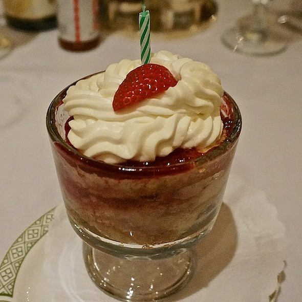 Strawberry Trifle - Lawry's The Prime Rib - Chicago, Chicago, IL