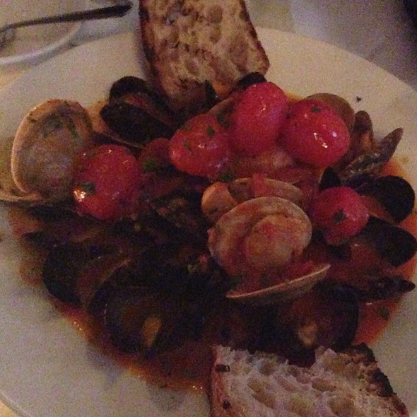 Mussels and Clams - Nico, Boston, MA