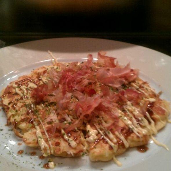 Okonomiyaki - Pisces Sushi Bar & Lounge, Charlotte, NC