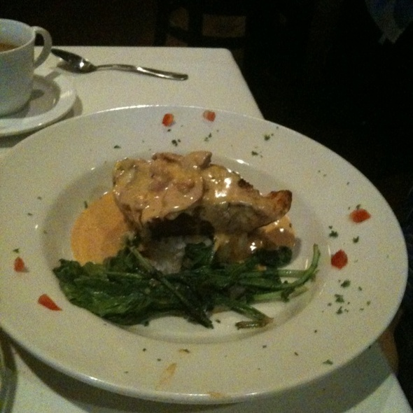 Creole Grouper With Argula - North Beach Bistro, Atlantic Beach, FL