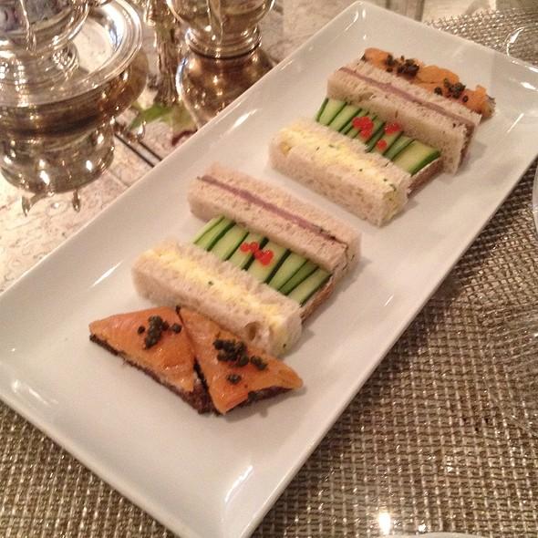 Finger Sandwiches - Greenhouse at the Jefferson Hotel Washington DC, Washington, DC