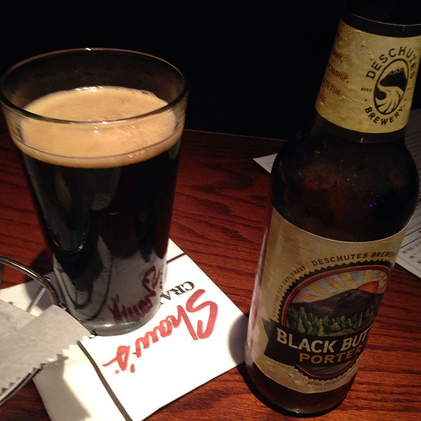 Deschutes Black Butte Porter - Shaw's Crab House - Schaumburg, Schaumburg, IL