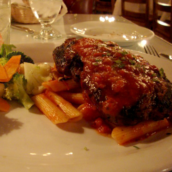 Meatball Steak - Colombo's Italian Steakhouse & Jazz Club, Eagle Rock, CA