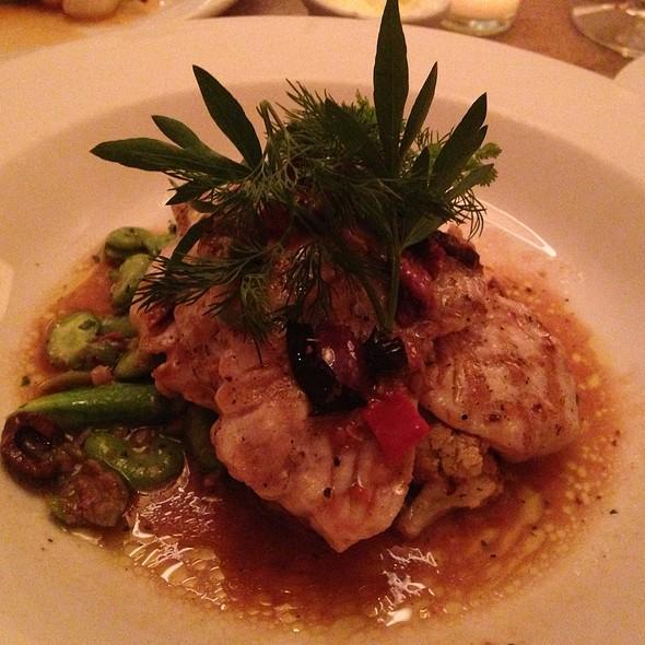 grilled triggerfish - Nana's Restaurant, Durham, NC