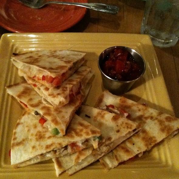 Crabmeat Quisadillas - Chez Zee, Austin, TX