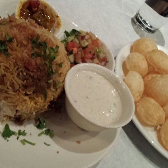 Chicken Briyani & Pani Puri - Bhojanic, Decatur, GA