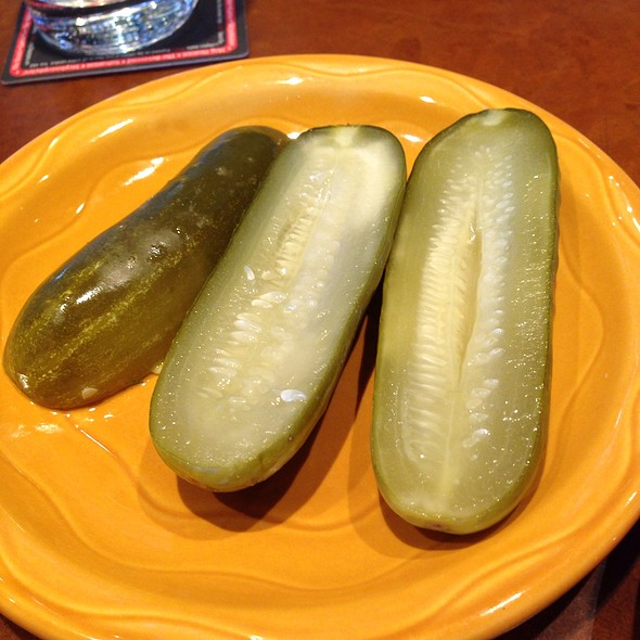 House Pickles - Zolo Grill, Boulder, CO