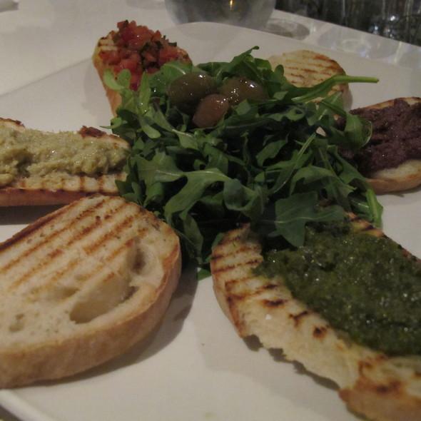 Olive Oil Tasting with Bruschetta - BiBo Pizzeria con Cucina, Vancouver, BC