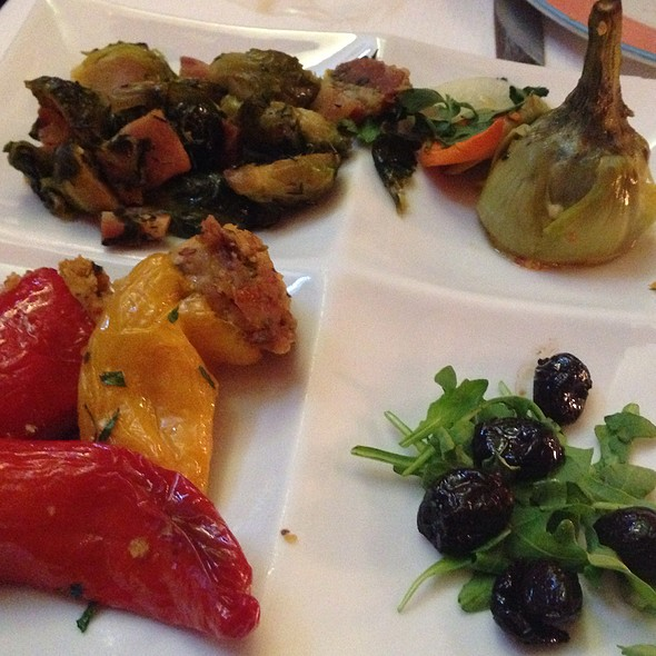Vegetable Antipasto - Trattoria Dell'Arte, New York, NY