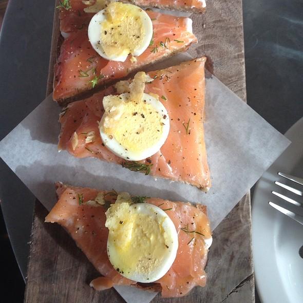 Salmon Crostini - Zinqué - Venice, Venice, CA