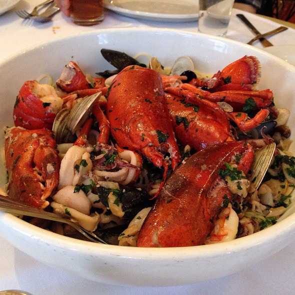 Seafood Pasta - Carmine's - 44th Street - NYC, New York, NY