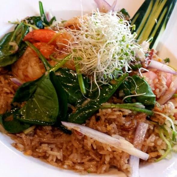 Shrimp Fried Rice - Soo Raa Thai - American CHIC, Toluca Lake, CA