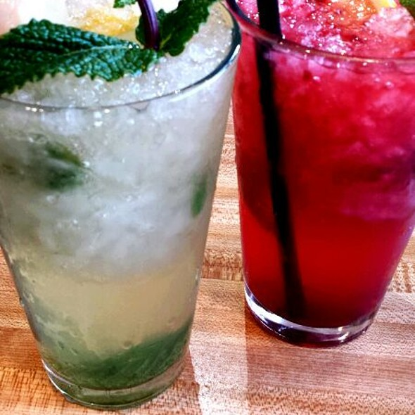 Lychee Mojito & Berry Mojito - Soo Raa Thai - American CHIC, Toluca Lake, CA
