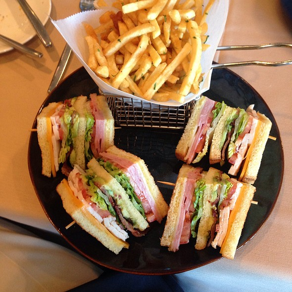 Chicken Club Sandwich - Bellamy's, London