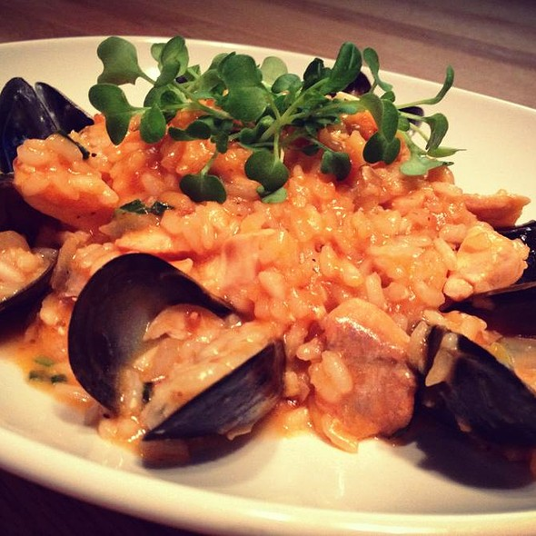 Risotto with Seafood - Toscana Italian Grill, Calgary, AB