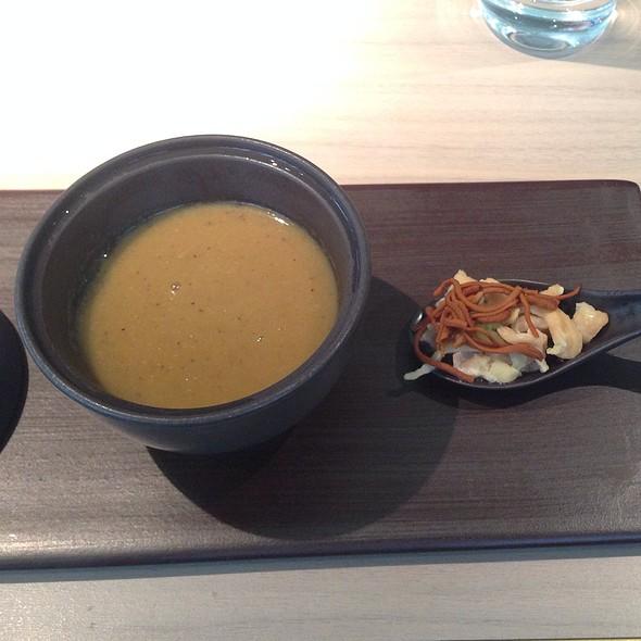 Truffle Poulet De Bresse Soup - HKK, London