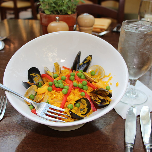 Seafood Paella - Villa de Flora at Gaylord Palms Resort, Kissimmee, FL