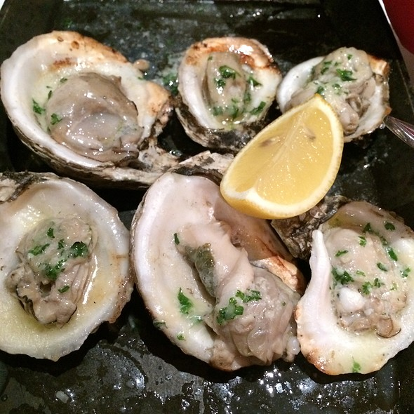 Charbroiled Oysters - Pamplona Tapas Bar and Restaurant, Lafayette, LA