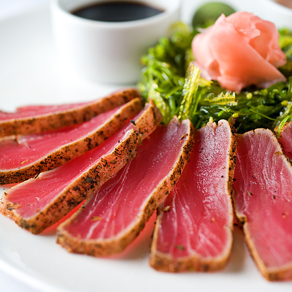 Seared Ahi - 21 Oceanfront, Newport Beach, CA