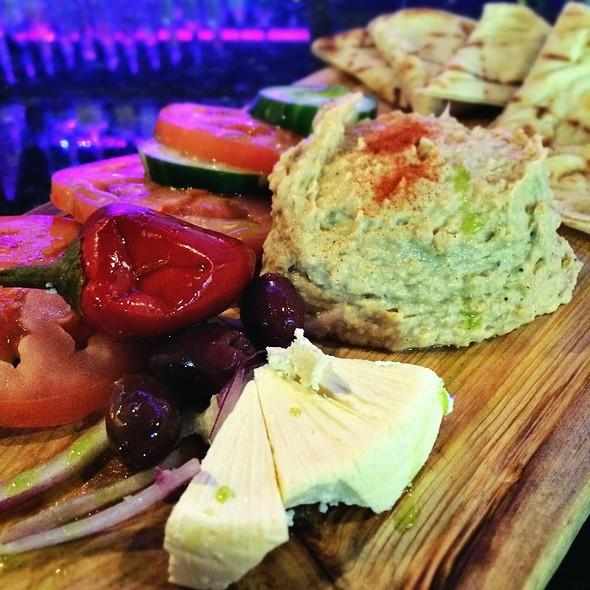 Hummus Plate - Sarajevo Restaurant & Lounge, Seattle, WA