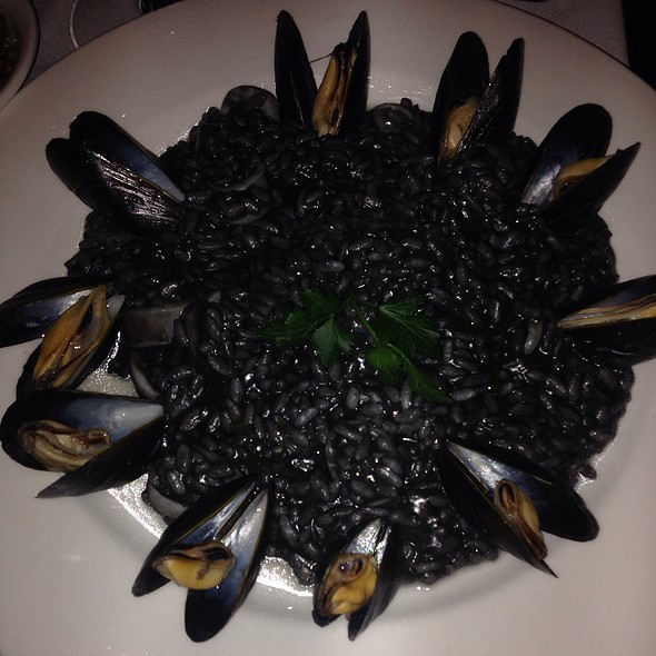 Risotto With Squid Ink  - Il Corso (New York City), New York, NY