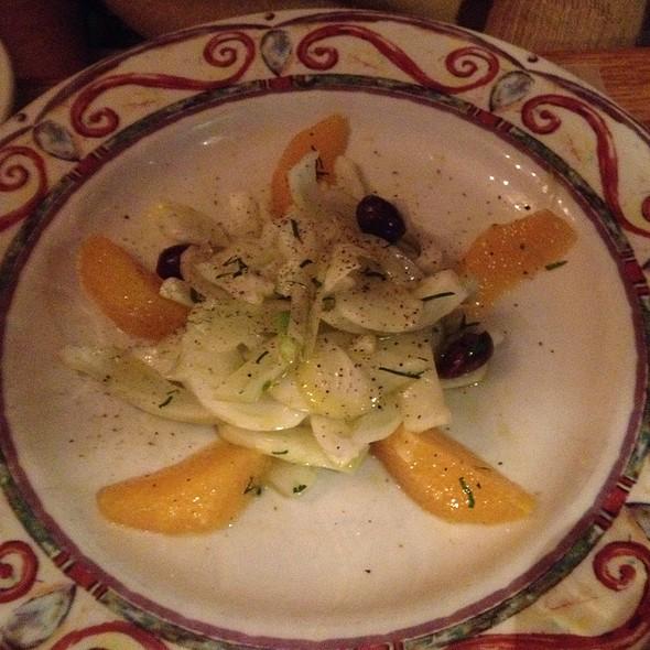 Fennel, Orange And Black Olive Salad - Cacio e Pepe, New York, NY