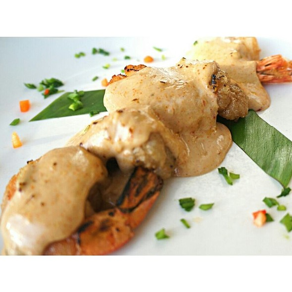 Baked Seafood Dynamite - Ocean House Restaurant, Honolulu, HI
