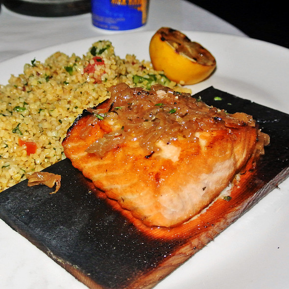 Cedar-Roasted Salmon - YOLO, Fort Lauderdale, FL