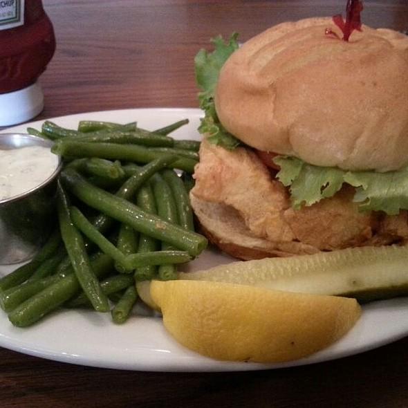Fish Sandwich - Durgin Park, Boston, MA