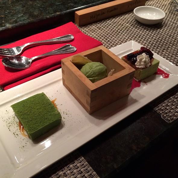 Matcha 3 Ways - Edoko Sushi, Frisco, TX