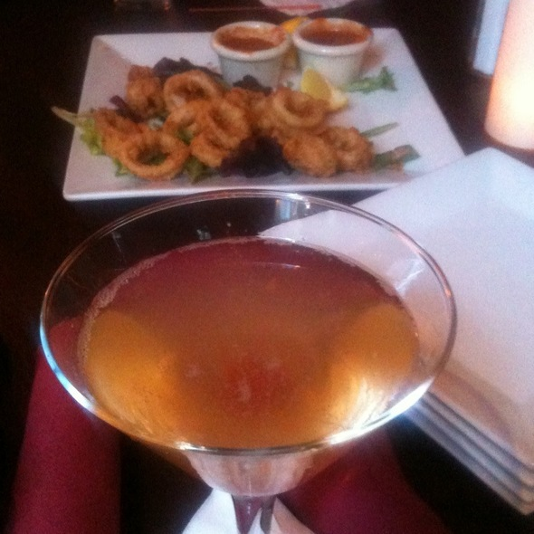 Martini Bellini And Calamari - The Uptown Restaurant, New York, NY